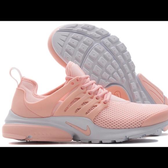 le scarpe nike air presto la luce rosa l '8 poshmark